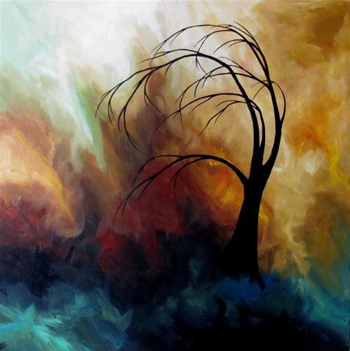 """""""Dreary Tuesday"""" original fine art by ~ces~ Christine E. S. Code"""