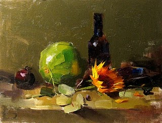 """""""Demo at Jacksonville 2 --- Sold"""" original fine art by Qiang Huang"""