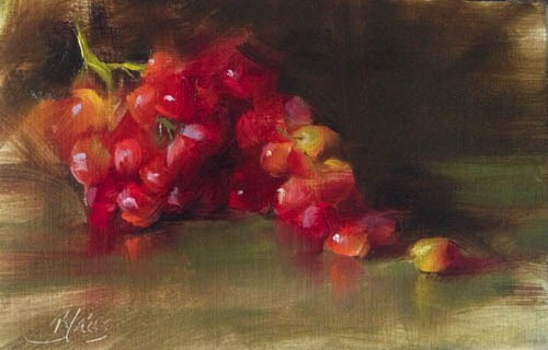 """Summer Reds"" original fine art by Pamela Blaies"