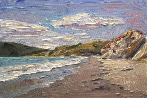"""Avila Beach Looking North(ish)"" original fine art by Raymond Logan"