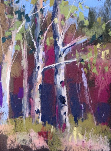"""Aspens to Hoodoos....Exploring Scenic Hwy 12"" original fine art by Karen Margulis"