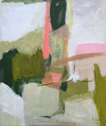 """Wake Up, April"" original fine art by Pamela Munger"