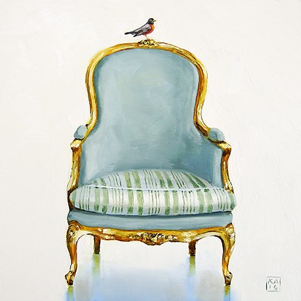 """early bird"" original fine art by Kimberly Applegate"