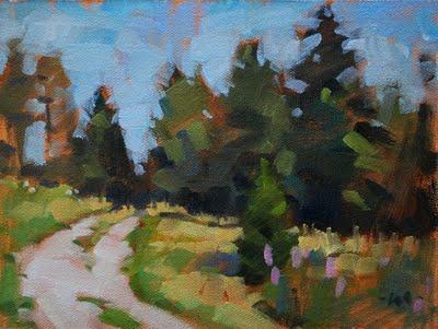 """The Way Home"" original fine art by Carol Marine"