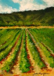 """Field Study"" original fine art by JoAnne Perez Robinson"
