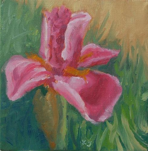 """Pretty in Pink"" original fine art by Kathy Johnson"