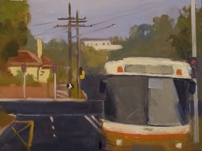 """BUS 472 - #3"" original fine art by Helen Cooper"