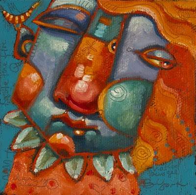 """""""Flutter Bird"""" original fine art by Brenda York"""