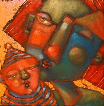 """""""Sleepwalkers"""" original fine art by Brenda York"""