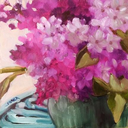 """Lilacs"" original fine art by Elaine Juska Joseph"