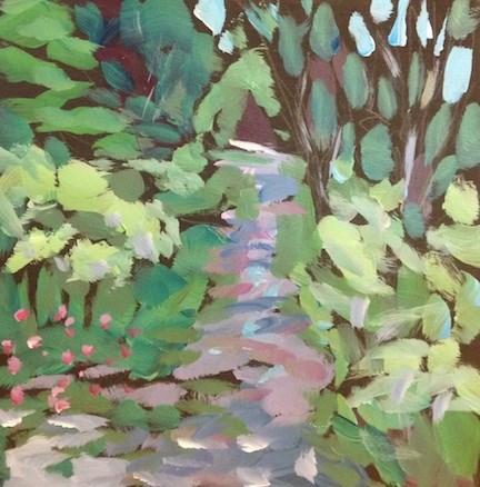 """Second Street, Grand Marais MN"" original fine art by Kat Corrigan"
