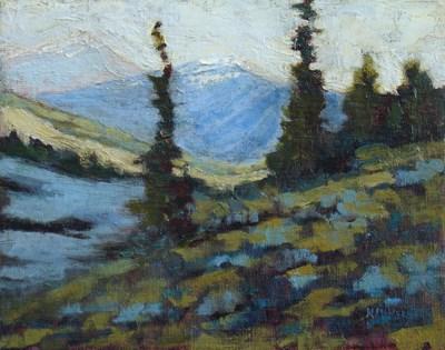 """Crested Butte"" original fine art by Susan Hammer"