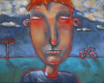 """Obsession # 14"" original fine art by Brenda York"