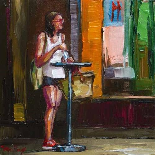 """""""thirst"""" original fine art by Jurij Frey"""