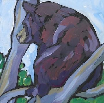 """""""Scouting His Domain"""" original fine art by Kat Corrigan"""