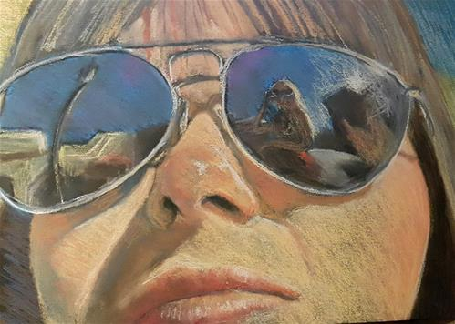 """Summer"" original fine art by Rentia Coetzee"