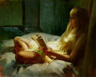 """An old story"" original fine art by Fongwei Liu"