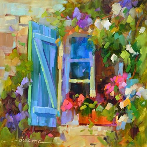 """""""Open to Possibilities"""" original fine art by Dreama Tolle Perry"""