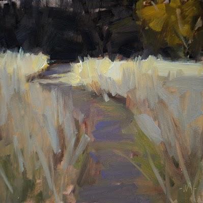"""Afternoon Light"" original fine art by Carol Marine"