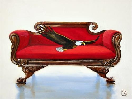 """honor"" original fine art by Kimberly Applegate"