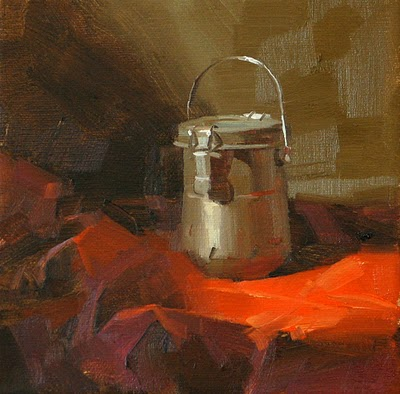 """""""Brushes Washed --- Sold"""" original fine art by Qiang Huang"""