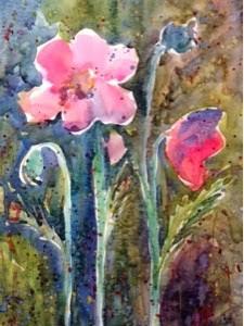 """""""Joyful Noise"""" original fine art by Lyn Gill"""