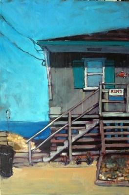 """Rent"" original fine art by Rick Nilson"