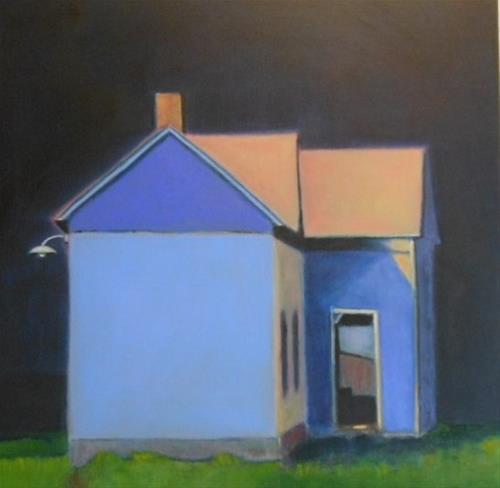 """""""Nightlight"""" original fine art by Almira Hill Grammer"""