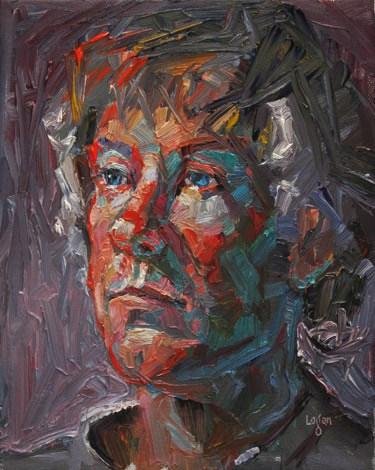 """Brandon"" original fine art by Raymond Logan"