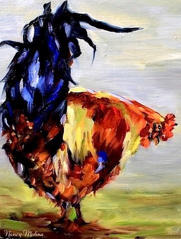"""""""Babys Got Back by Nancy Medina"""" original fine art by Nancy Medina"""