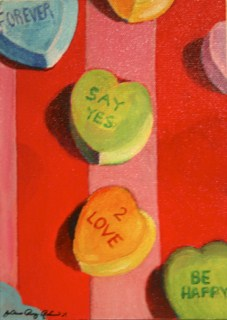 """Forever Say Yes To Love"" original fine art by JoAnne Perez Robinson"
