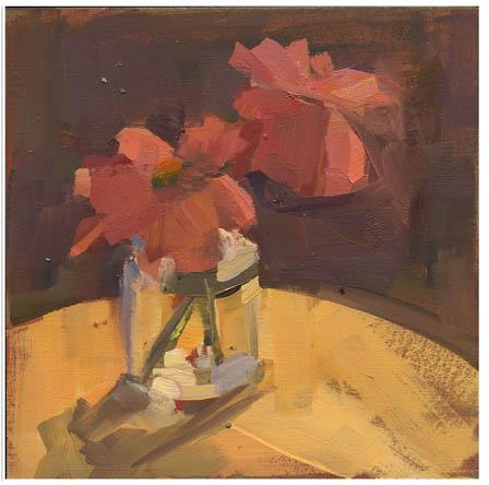 """""""#820 Pink Petals"""" original fine art by Lisa Daria"""