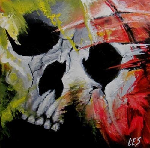 """""""Hollow"""" original fine art by ~ces~ Christine E. S. Code"""