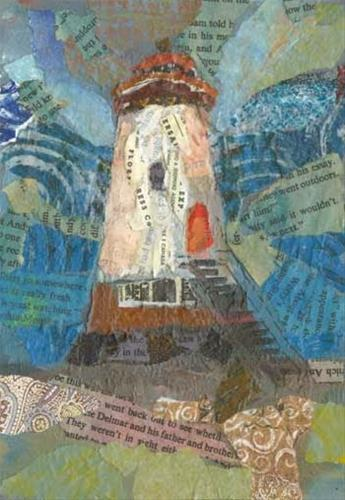 """Lighthouse Stands Proud"" original fine art by Kara Butler English"