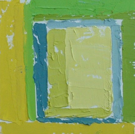 """YELLOW"" original fine art by Linda Popple"