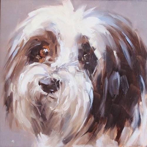 """BRUNO #1"" original fine art by Helen Cooper"