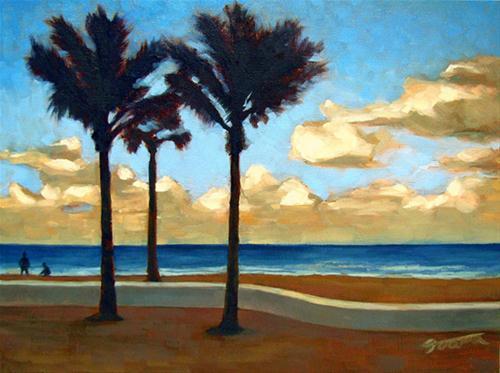 """""""Sun Will Shine"""" original fine art by Joanna Bingham"""