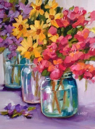 """""""Mother's Day Special"""" original fine art by Libby Anderson"""