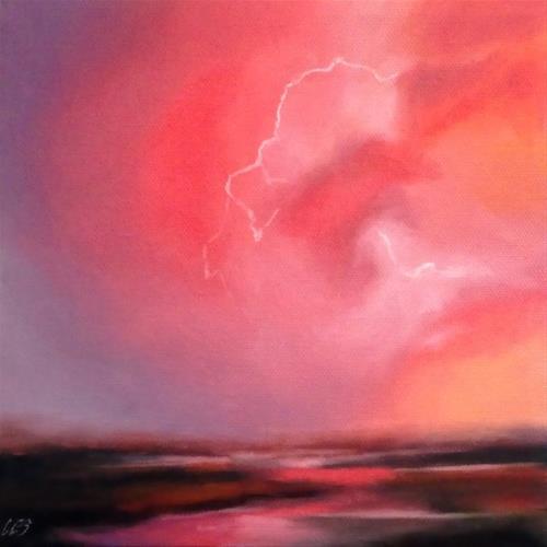 """""""Leo's Lightning"""" original fine art by ~ces~ Christine E. S. Code"""