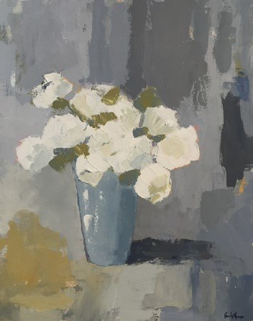 """rustic roses III"" original fine art by Pamela Munger"