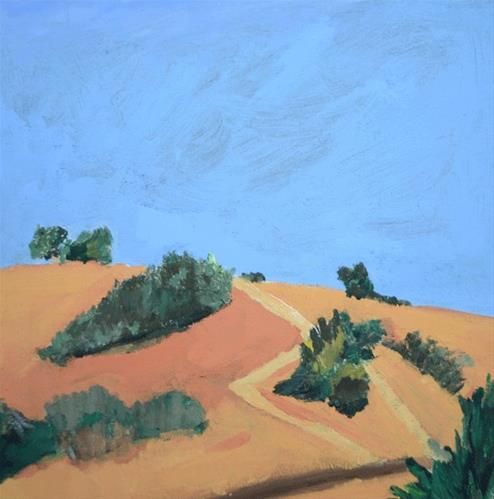 """Which Path"" original fine art by Donna Crosby"
