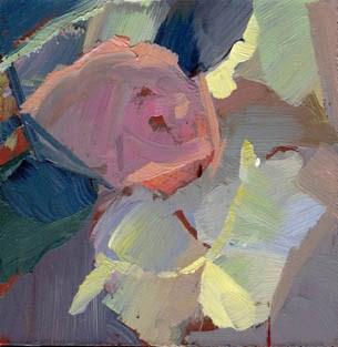 """1379 Light Leaf"" original fine art by Lisa Daria"