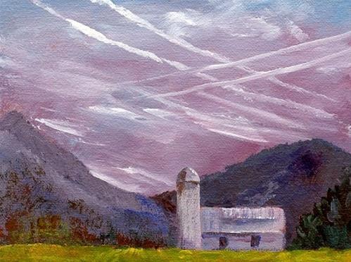 """ORIGINAL PLEIN AIRE PAINTING IN SALEM, VIRGINIA"" original fine art by Sue Furrow"