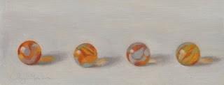 """Marbles"" original fine art by Cheryl Meehan"