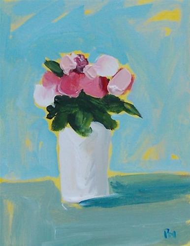 """Spring Buds"" original fine art by Pamela Munger"
