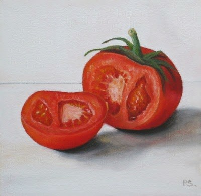 """Open"" original fine art by Pera Schillings"