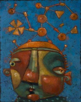 """""""Tinker Boy"""" original fine art by Brenda York"""