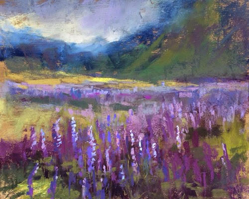 """""""Painting Iceland Trip Report Day 4"""" original fine art by Karen Margulis"""