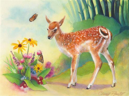 """Small Wonders"" original fine art by Cheryl Plautz"
