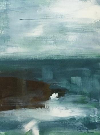 """""""Ocean Abstract II"""" original fine art by Pamela Munger"""